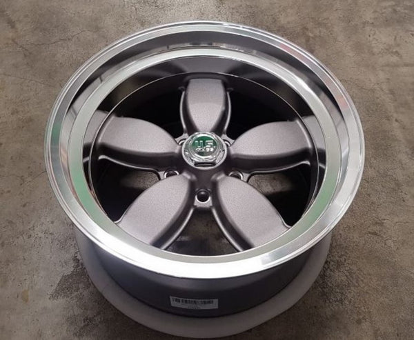 US Mag 200S 18x8 & 18x9.5 1p offset 5/4.75 5/120.65 Chev HQ old skool cool Daisy