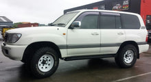 Load image into Gallery viewer, Offroader steel wheels 16x7 5/150 25p offset 100 & 200 series Toyota Landcruiser