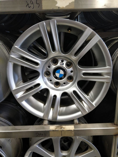 BMW 17x8 34p 17x8.5 37p 5/120 mags 3 series E90 staggered fit genuine wheels