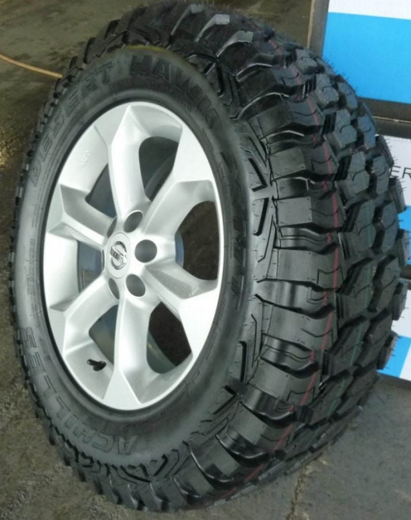 4 X Achilles Desert Hawk XMT 265/65R17 tyres fitting & balancing inc in buynow