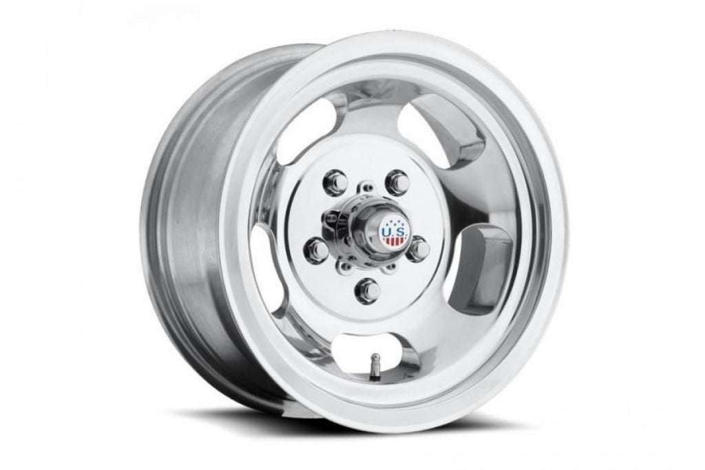 US Indy 15x8 5/114.3 1p offset Polished mags Stock Clearance on SALE set of x 4