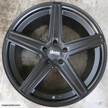 Load image into Gallery viewer, Dortmund 20x10 45p 5/112 Satin Black mags Mercedes GL ML Class fitment