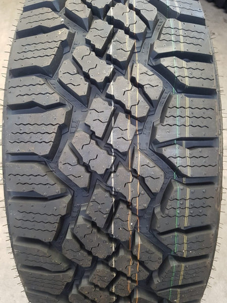 4 x 265/65R17 Goodyear Wrangler Duratrac A/T tyres fitting included in buynow
