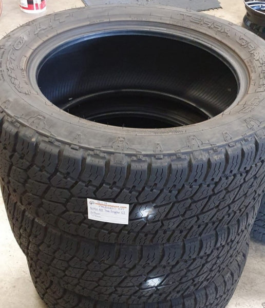 275/55R20 117T Nitto A/T Terra Grappler G2. 2x8mm