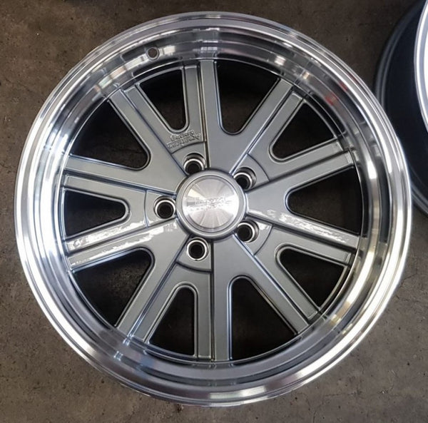 American Racing AR427 Mono Cast 17x7 0p & 17x9 12p 5/114.3 offset suit Ford