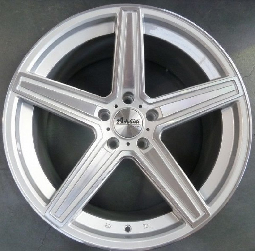 4 new wheels Dortmund 20x10 5/112 35p Silver Machined mags Mercedes ML or GL