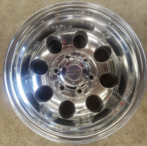 ProComp 15x10 6/139.7 -47 offset Full Polished suit Nissan Patrol