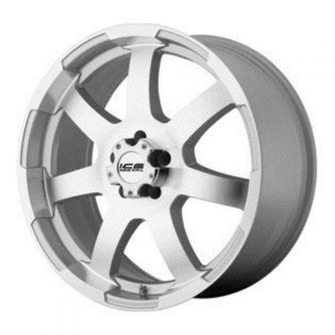 American Racing 18x8 5/114.3 10p Full Silver mags clearance wheels to clear