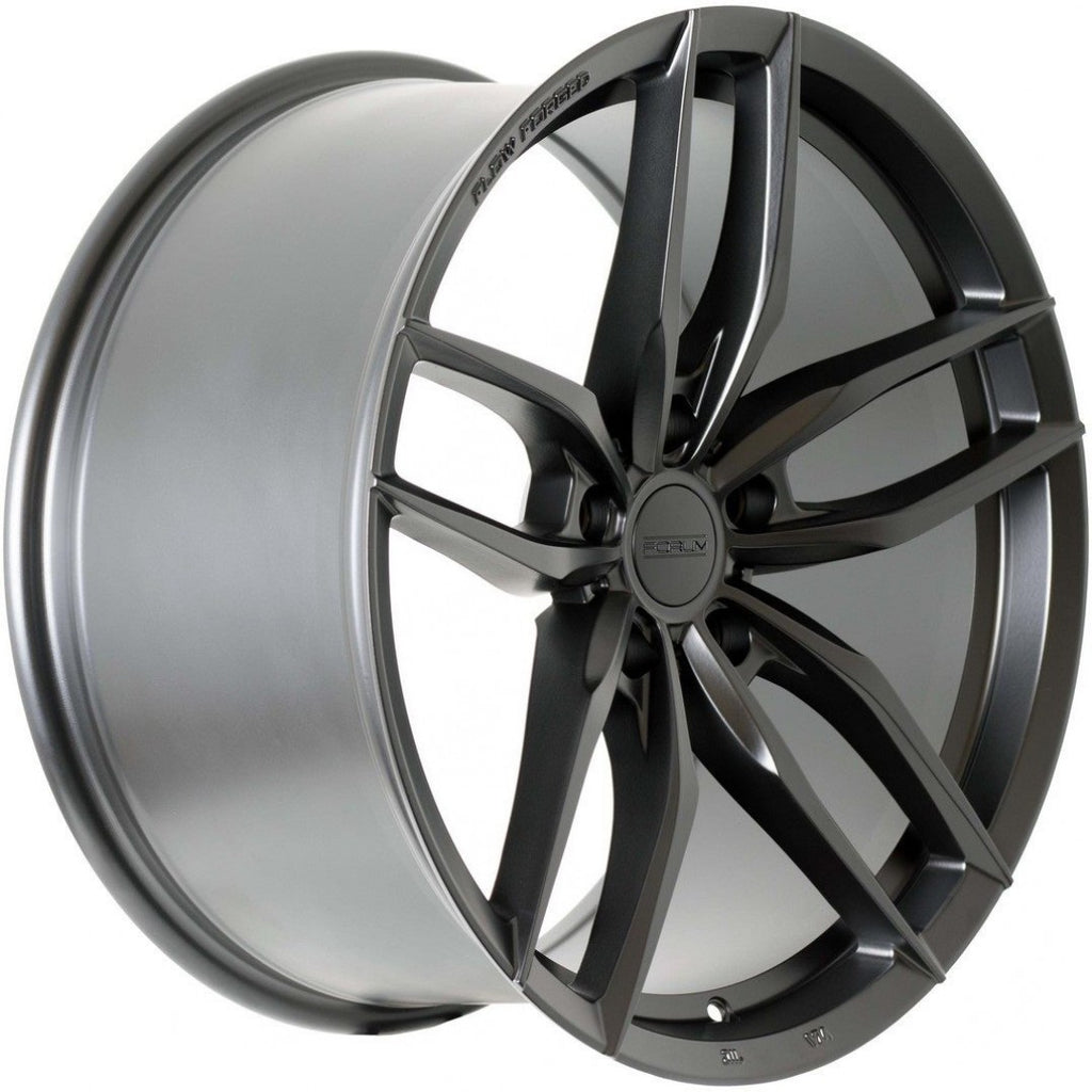 Forum Shift 19x8.5 5/112 35p Full Matt Black great wheel for VW / Audi etc