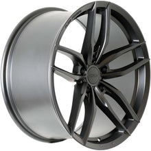 Load image into Gallery viewer, Forum Shift 19x8.5 5/112 35p Full Matt Black great wheel for VW / Audi etc