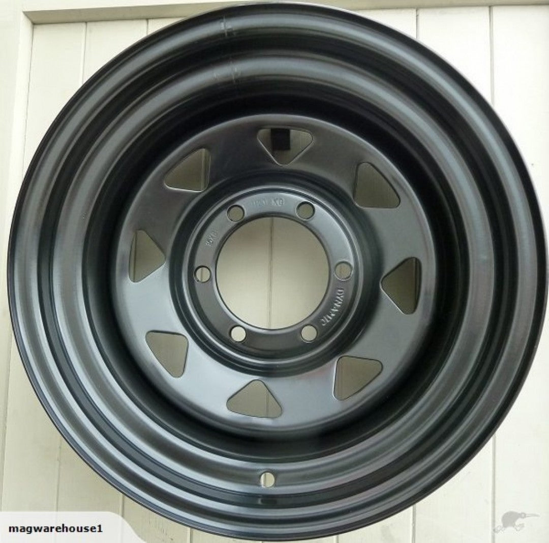 Dynamic 17x8 6/139.7 25p auction is for 4 brand new wheels Hilux & Ranger