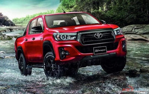 Suitable for Toyota Hilux 2018+ Flarekit Smooth Rocco type Strong Flare Kit