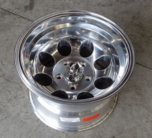Load image into Gallery viewer, Pacer LT 164P 15x10 5/127 Polished -46 offset super tuff wheels for Jeep or C10