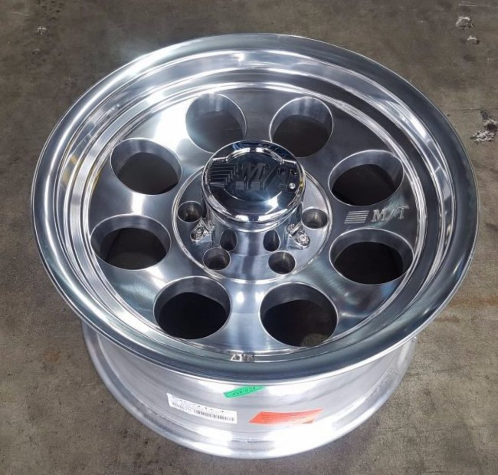 Mickey Thompson Classic 3 16x8 6/139.7 -22 offset full polish M/T III 106.1 CB