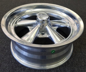 Cragar S/S 17x7 5/114.3 6p Full Polished Brand New set of x 4 Full Alloy mags