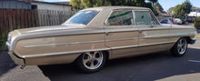 "Load image into Gallery viewer, 4 x new Ridler 645 17x8 5/4.5 Grey 0 offset NEW mags 8"" wide old Ford Falcon"