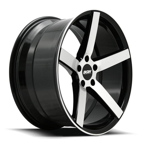 4x BGW Torque 19x8.5 5/114.3 35p 19x9.5 40p Fully machined Gloss Black windows