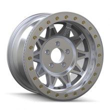 Load image into Gallery viewer, Dirty Life Roadkill 17x9 -14 offset 5/127 Genuine Beadlock wheels Silver Cast