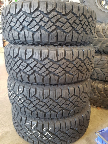 4x 265/60R18 Goodyear Wrangler Duratrac 4 x New Tyres fitting included in buynow