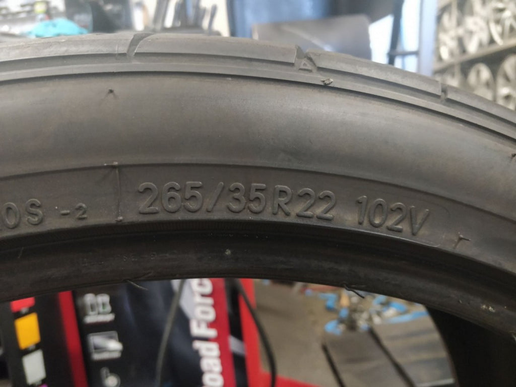 1x 265/35R22 102V Nitto NT420S 1x6mm Made in Japan, FREE Fitting with BUYNOW!!!