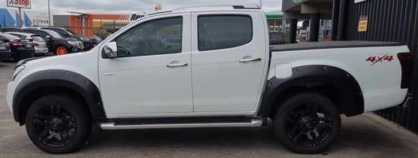 Isuzu DMAX Flarekit ABS Strong as Flare Kit Flares Just arrived new into store