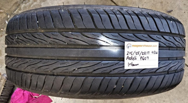 215/55R17 98W Aoteli P607 1x6mm Free Fitting with the Buynow!!!