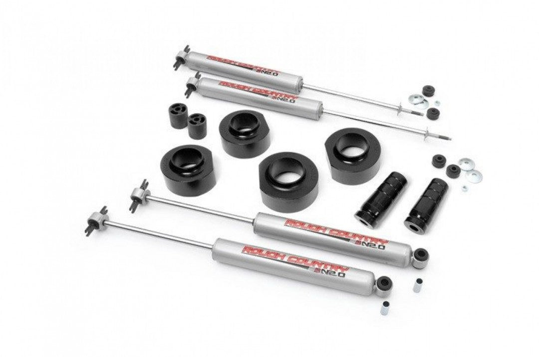 "RC JEEP 97-06 TJ 4WD 1.5"" LIFT KIT Rough Country liftkit will also fit ZJ 650.20"