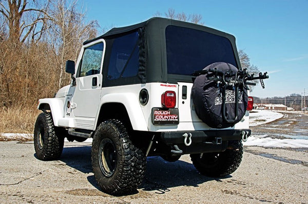 TJ Jeep Full steel door type 85020.35 Black Soft Top RC85020.35 Rough Country