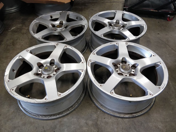 Nissan 17x7 45p 5/114.3 Genuine Nissan Alloys, CHEAP 66.1 Center Bore
