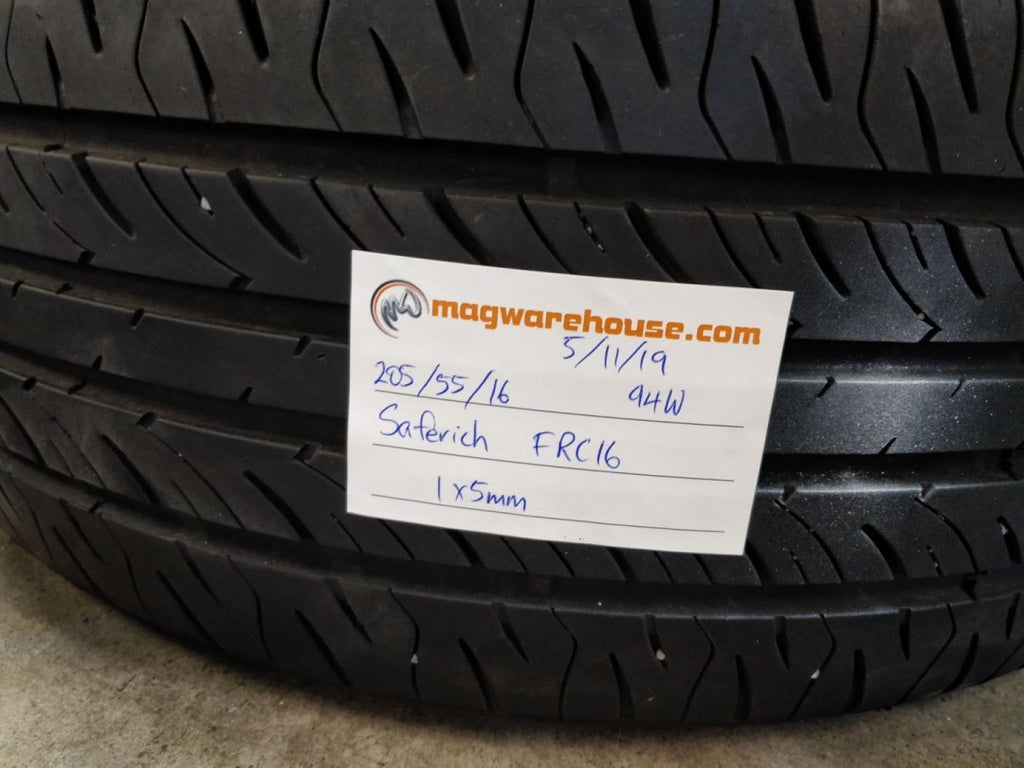 205/55R16 94W Saferich FRC16 1x5mm, FREE Fitting in BUYNOW!!!