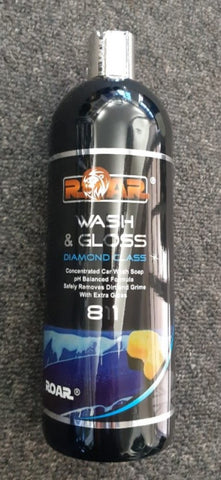 Wash & Gloss by ROAR Polish Polishers made in England