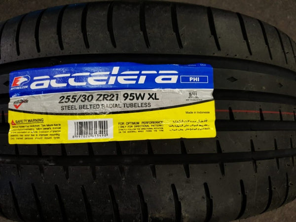 4 NEW 255/30R21 ACCELERA IOTA LOW PROFILE Brand New Tyres SALE ON NOW