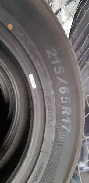 4 x 215/65R17 Blacklion BH15 99T NEW tyres fitting and balancing in buynow