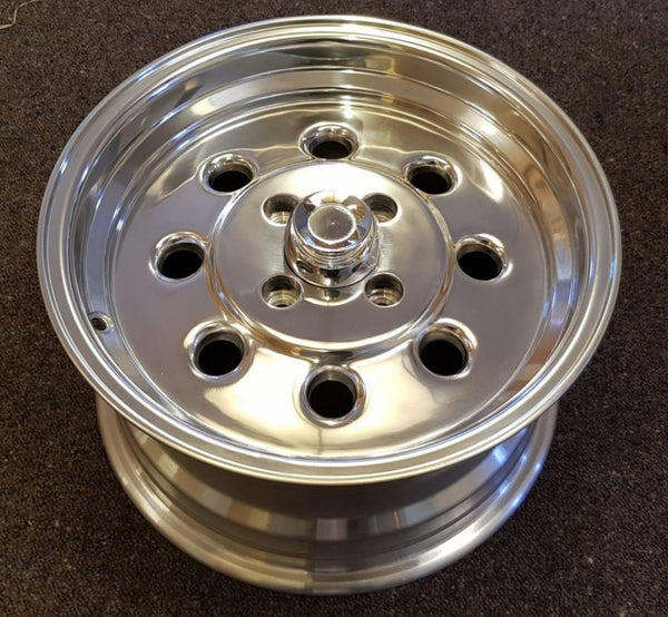 4 x Ultra NITRO 15x8 4/108 27p Offset Polished alloy suit Ford Escort Cortina