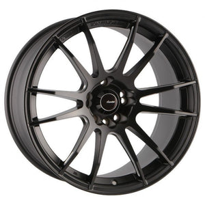 1 0nly Tenjin 17x9.5 5/114.3 & 4/114.3 Black 35p SORRY ONLY HAVE 1 NO MORE AVAI