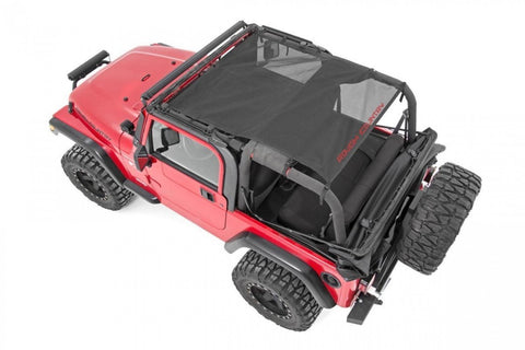 Rough Country JEEP WRANGLER TJ FULL MESH BIKINI TOP 97-06 85106