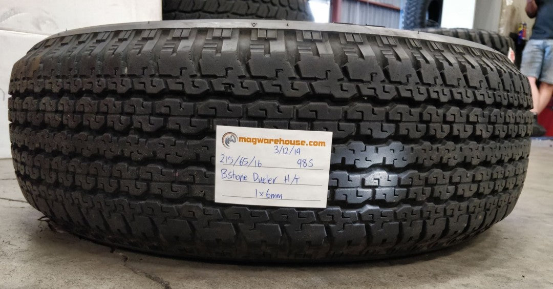 215/65R16 98S Bridgestone Dueler H/T 1x6mm, FREE Fitting with BUYNOW!!!