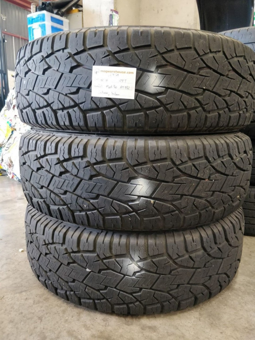 245/70R16 107T Sunfull Mont-Pro AT782 1x6mm, 2x8mm, FREE Fitting with BUYNOW!!!