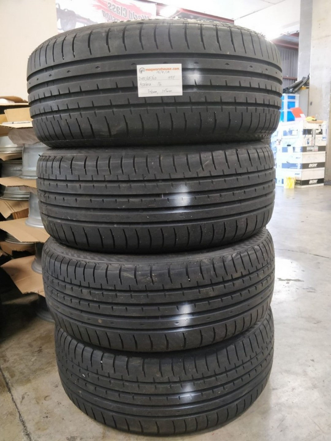 245/45R20 103Y Accelera Phi 3x6mm, 1x5mm, FREE Fitting with the BUYNOW!!!