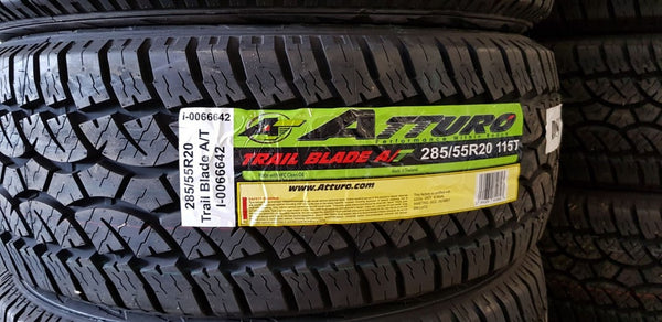 4x 285/55R20 115T A/T All Terrain New tyres on sale now be quick top quality 20""