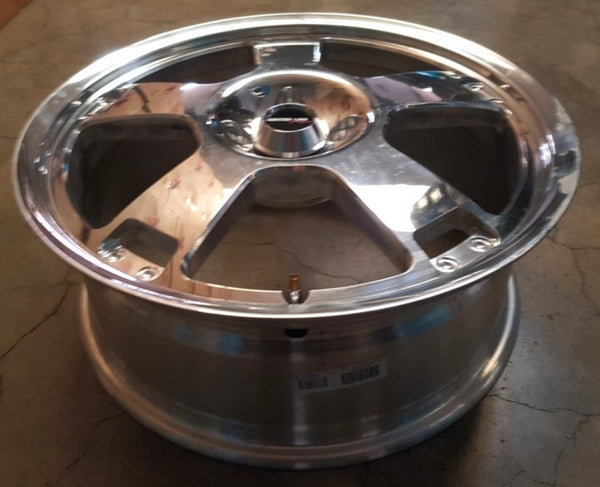 Centerline Forged wheels Viking 18x7 4/114.3 42p Full Polished CLEARANCE SPECIAL