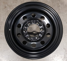 Load image into Gallery viewer, Dynamic Black Steels 16x8 -22 6/139.7 round hole heavy duty Hilux Landcruiser