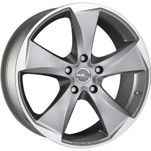 Mak Raptor 20x8.5 5/127 35p Gunmetal with Machined Spoke great for Chrysler Jeep