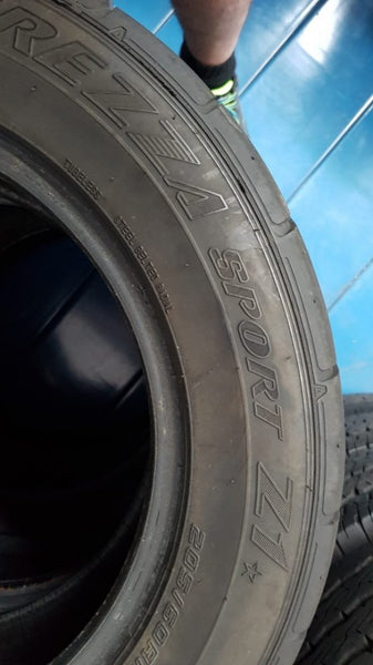 1x 205/60R15 91H Dunlop Direzza Sport Z1 5mm tread remaining spare track tyre
