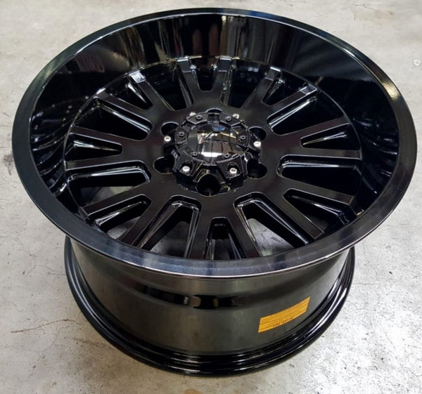 V Rock Anvil 17x9.5 6/135 15p Full Gloss Black just arrived from USA suit F150