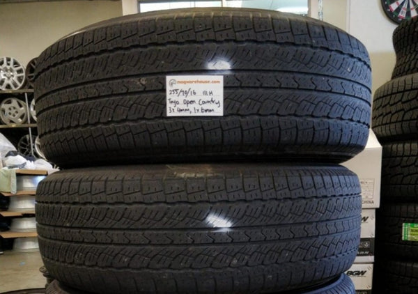 255/70R16 111H Toyo Open Country 3x4mm fitting & balancing in buynow!!!