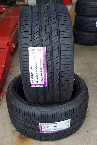 2 x NEW 315/35ZR20 110W XL NEXEN NFERA RU5 SUV 315/35R20 awesome tyres BMW X5