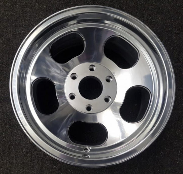 US Ansen Sprint 17x9 6/139.7 -12 Full Polished negative offset 83mm centre bore