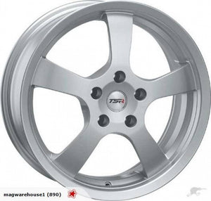 TSR Crosse 15x6.5 5/114.3 35p NEW Silver
