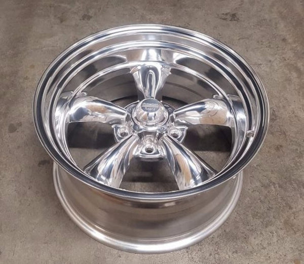 American Racing Torq Thrust 18x10 6p 18x9 0 5/127 Polished lightweight Clearance